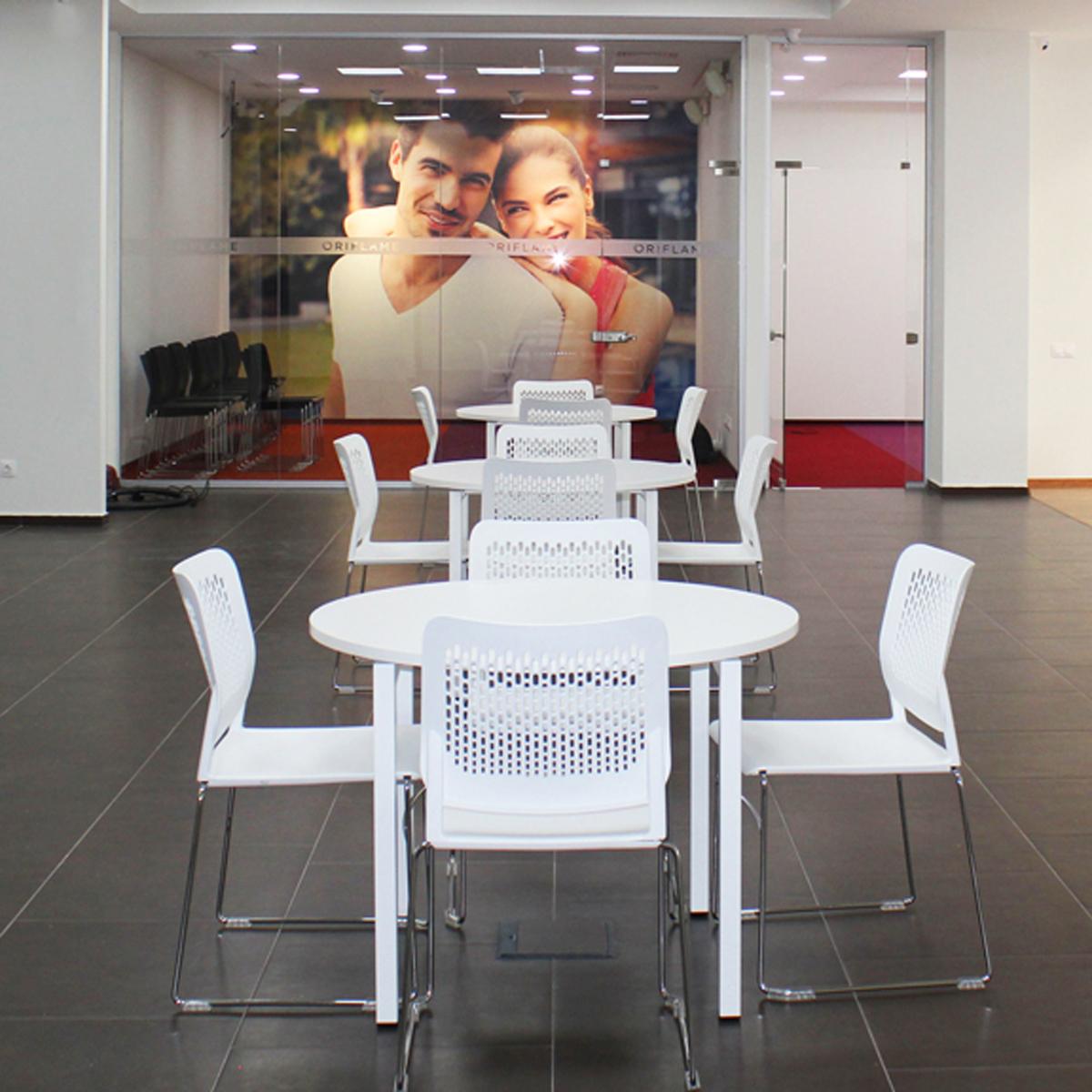 Besucherstuhl Konferenzstuhl Seminarstuhl Bürostuhl Stuhl Stapelbar WAIT