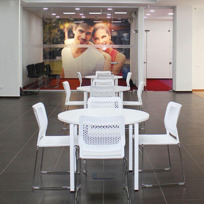WAIT Besucherstuhl | Stapelbar, Auf Rollen, Bezugsstoffe BERTA / LUCIA / VELITO / SYNERGY