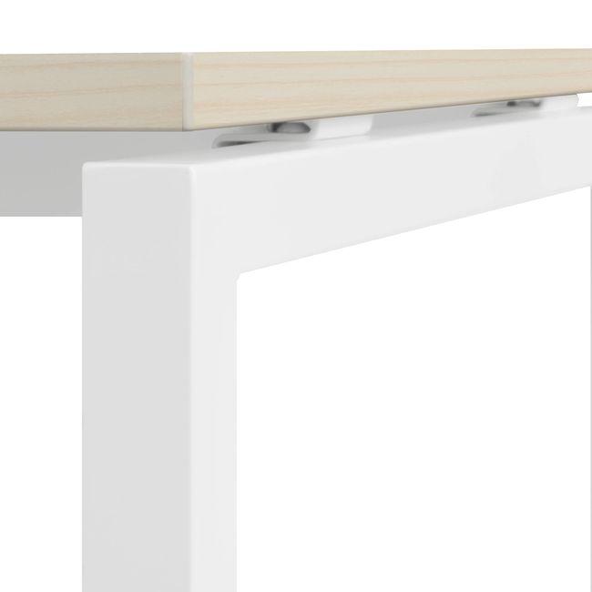 2er Team-Schreibtisch NOVA U 1.600 x 1.640 mm Ahorn – Bild 14