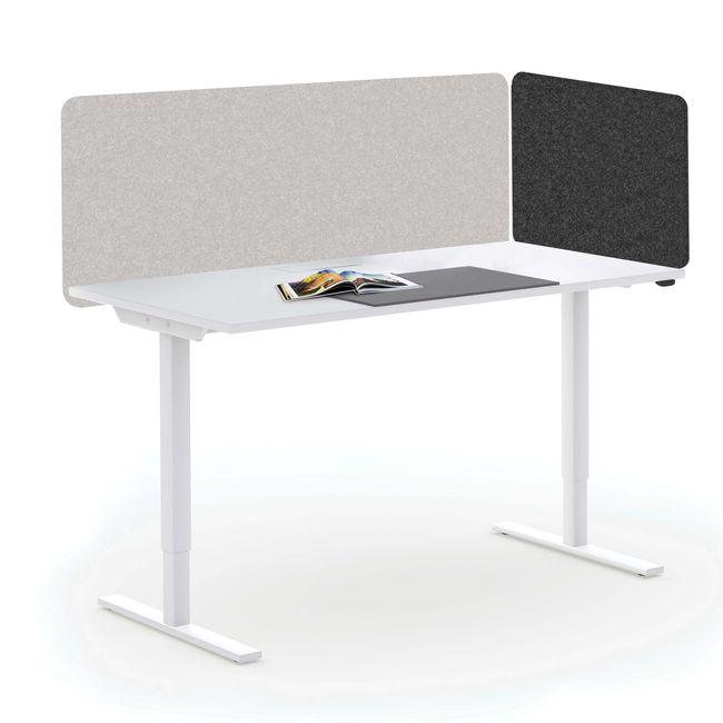 Akustik Tischtrennwand TOP Seitenblende 595 mm hoch VELITO | SYNERGY | LUCIA – Bild 25