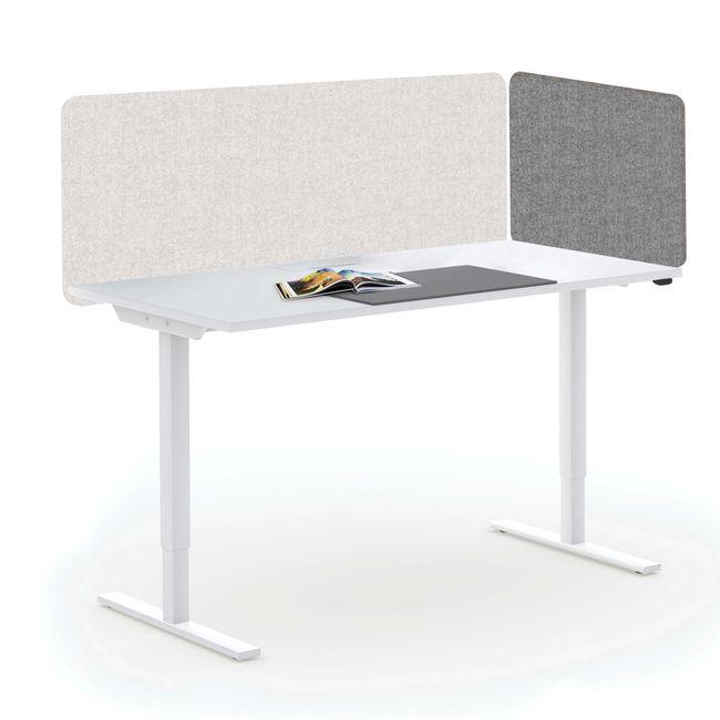 Akustik Tischtrennwand TOP Seitenblende 595 mm hoch VELITO | SYNERGY | LUCIA – Bild 24