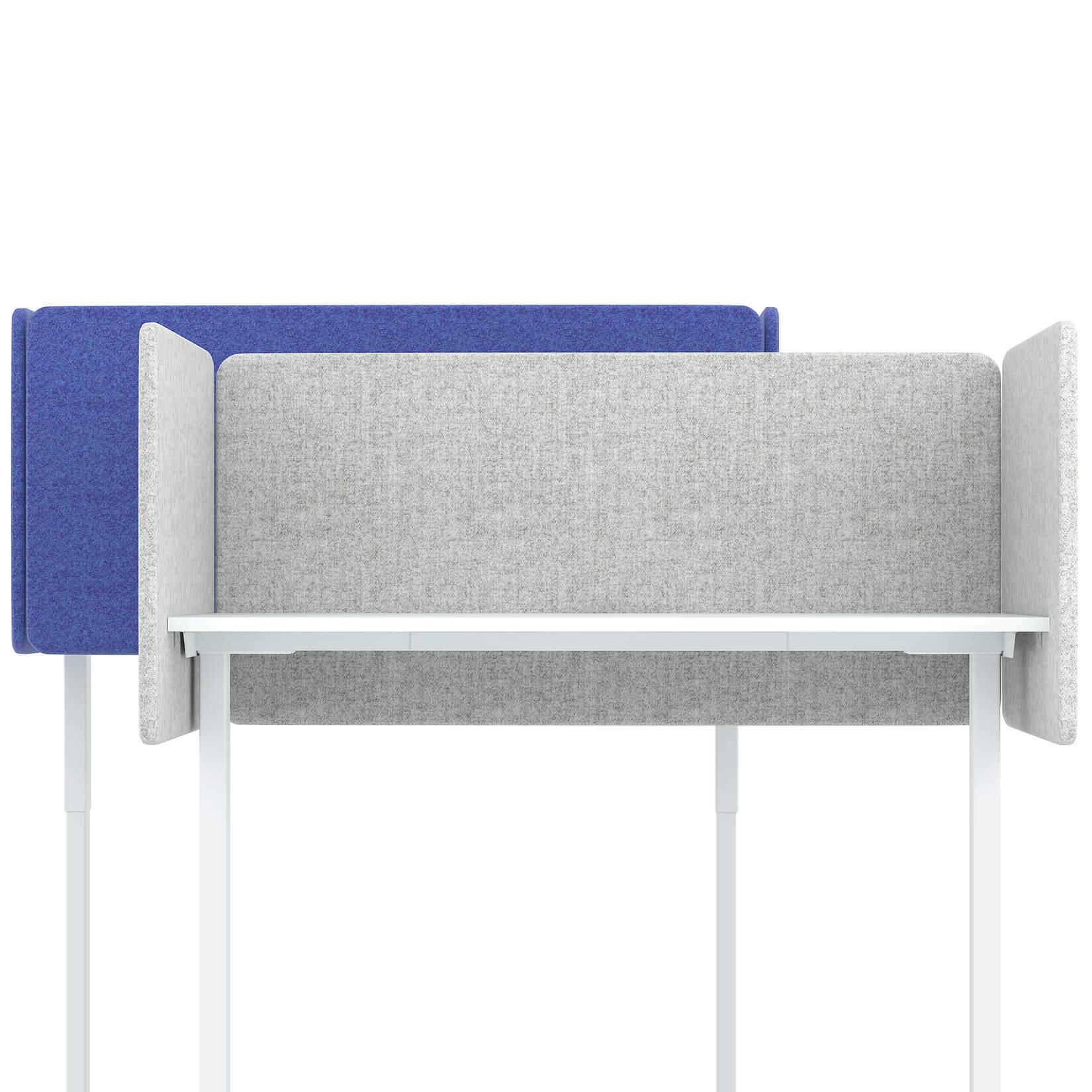 Akustik Tischtrennwand DESK Sichtschutz Lärmschutz Schallabsorbierend Raumteiler