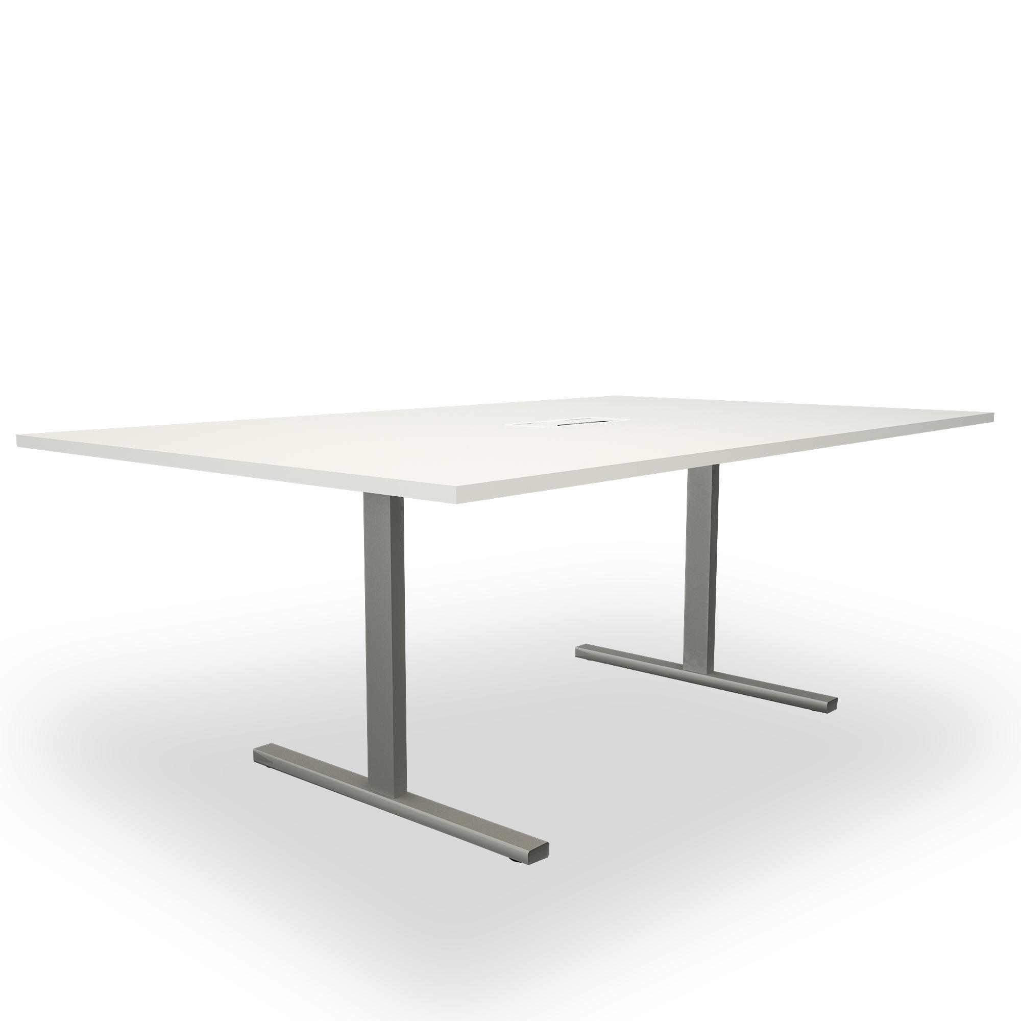 Konferenztisch 200x120 cm Elektrifizierung Besprechungstisch Tisch Büro T-EASY
