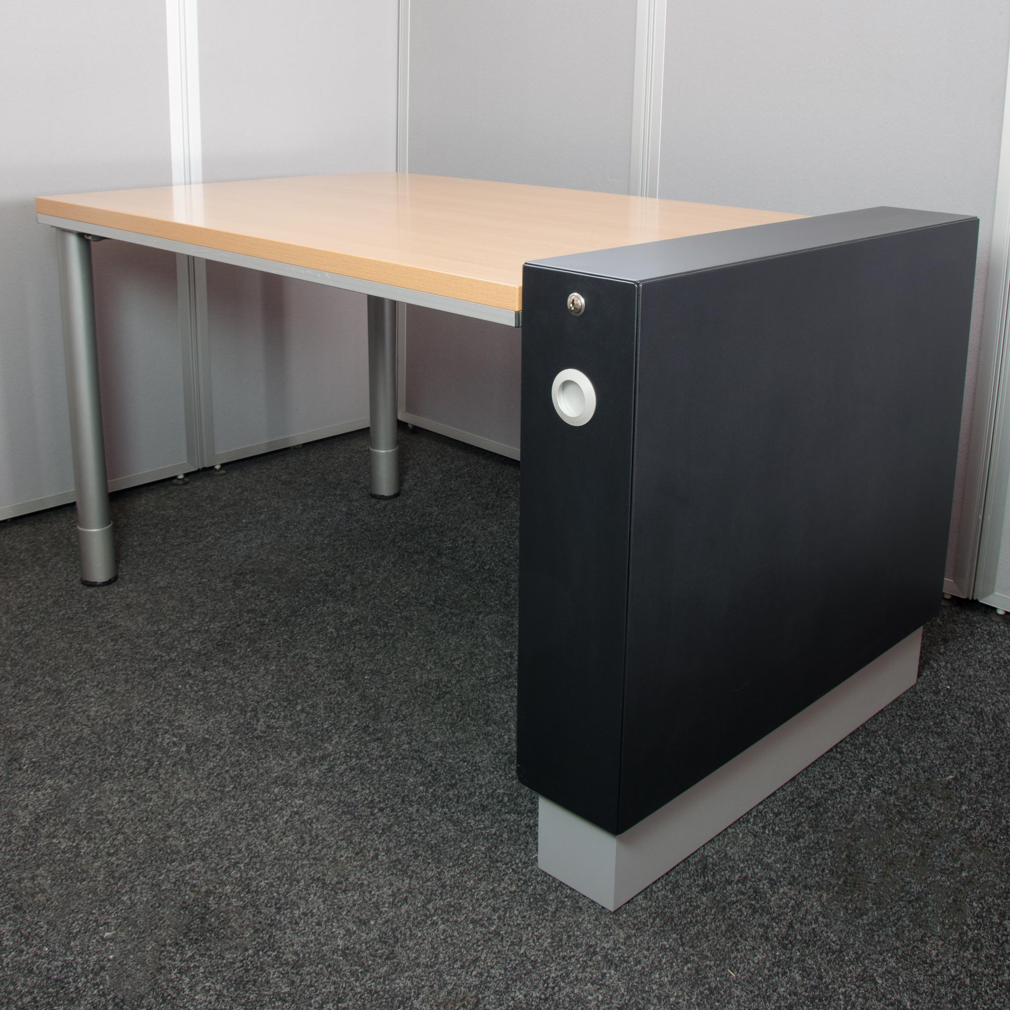 Schreibtisch arbeitsplatz beistell container x 800 for Schreibtisch container design