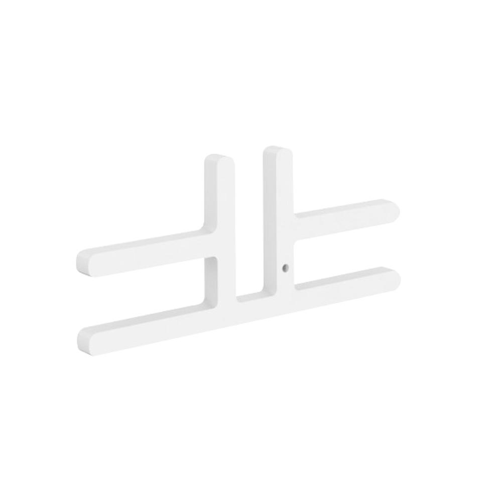 """Akustik Trennwandverbinder Verbindungsstück 2er Set """"T"""" für FREE STANDING Trennwände"""