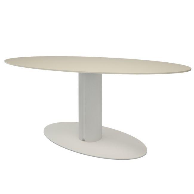 Bralco - Take Off Evo Besprechungstisch | Oval, 2200 x 1240 mm, Farbe wählbar