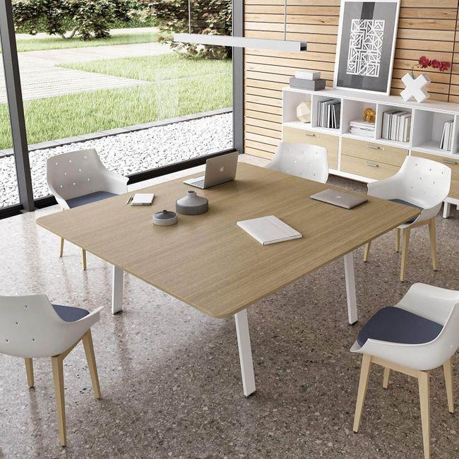 Besprechungstisch Konferenztisch Bralco - Take Off Evo Größe & Farbe wählbar für 8-12 Personen