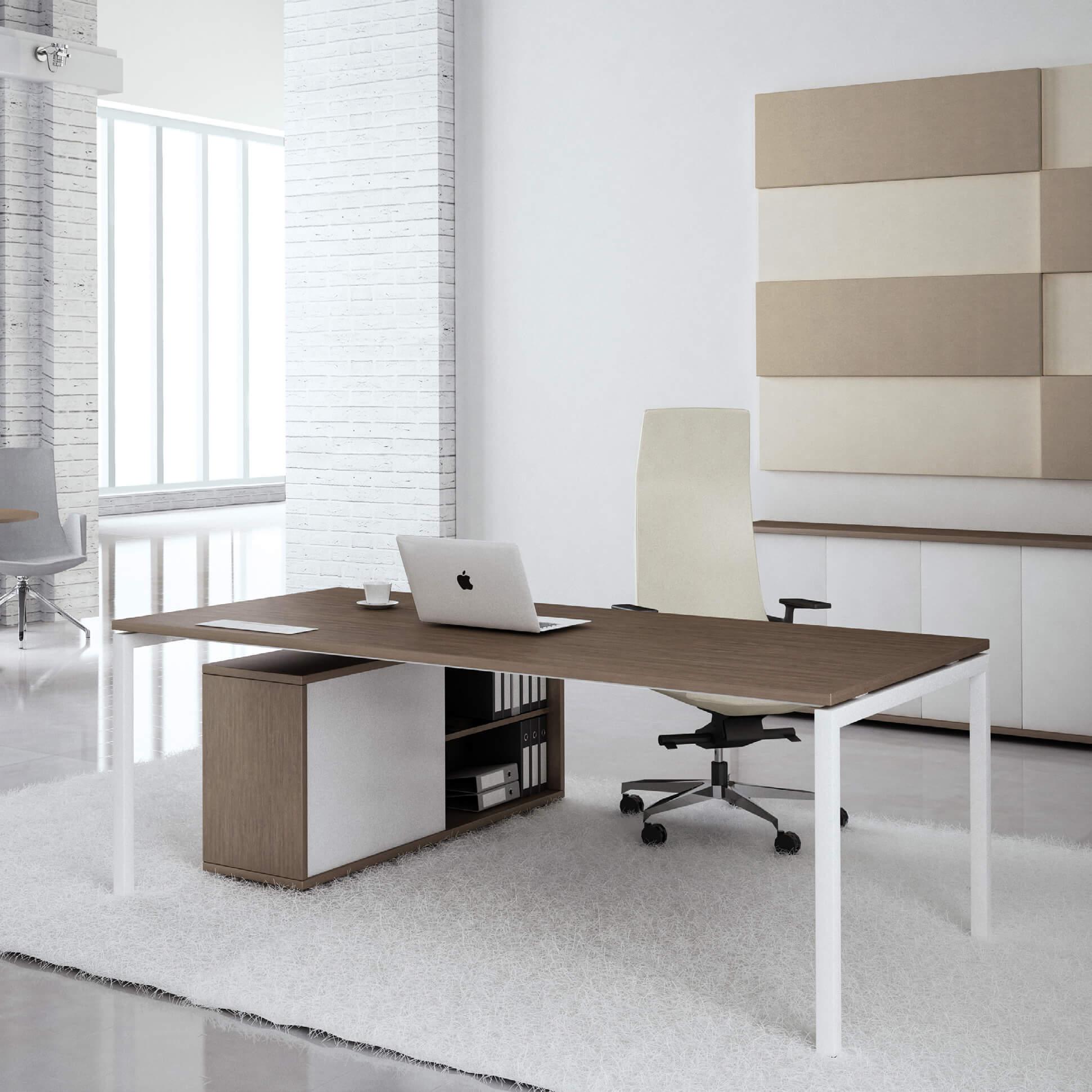 PROFI Chefschreibtisch 200x100cm NOVA U Konferenztisch Meetingtisch Schreibtisch