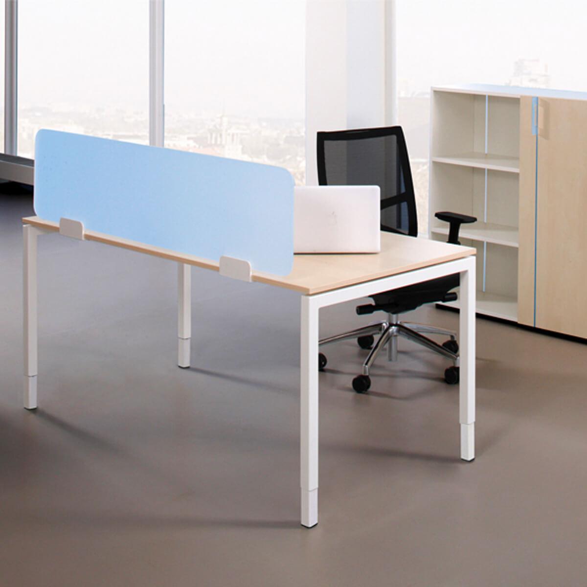 Tisch-Trennwand aus Plexiglas Sichtschutz Raumteiler UNI