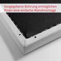 MODUS Akustik-Wandpaneel | Wandverkleidung, Komplettsystem, Wollbezug VELITO - Blau