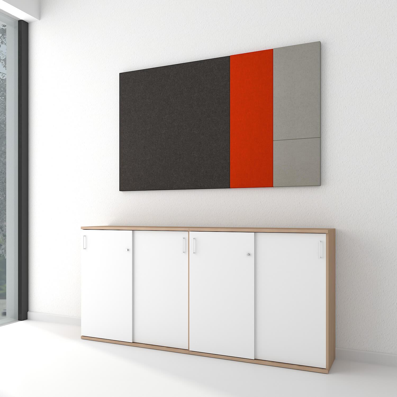 akustik wandpaneel modus komplettsystem wandverkleidung. Black Bedroom Furniture Sets. Home Design Ideas