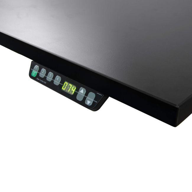 Schreibtisch elektrisch höhenverstellbar eModel 800 mm tief – Bild 4