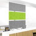 Akustik Deckensegel MODUS vertikal Komplettsystem Deckenpaneel