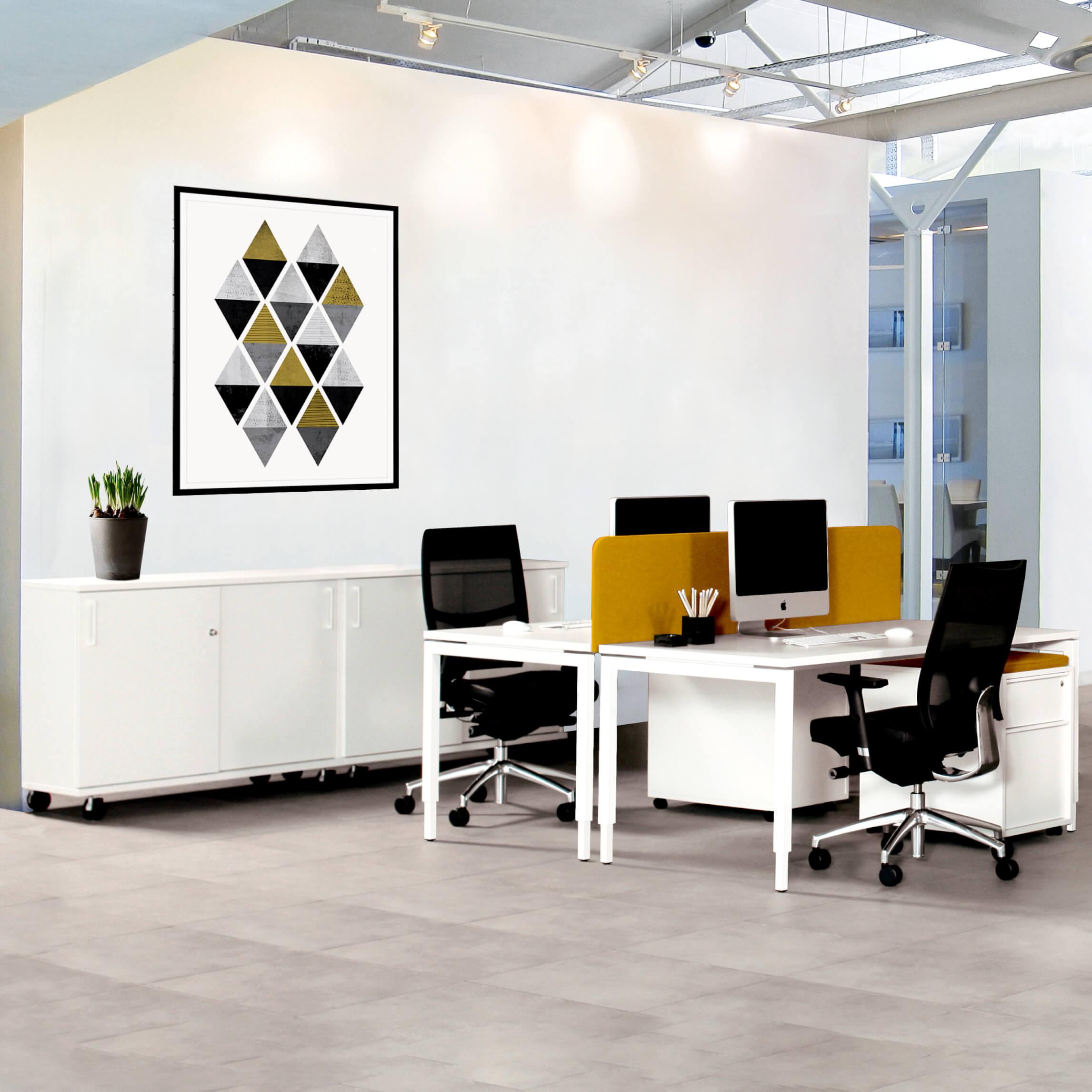 NOVA UH Schreibtisch manuell höhenverstellbar 160x80cm Bürotisch Computertisch Büro