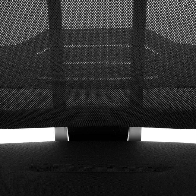 profim - XENON 101 SFL Net Bürodrehstuhl | Lordosenstütze, Netzrücken, Schwarz