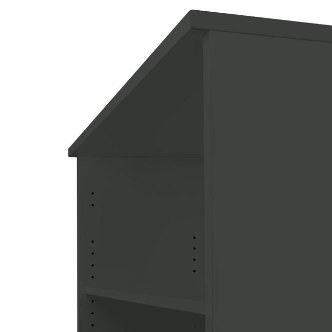 UNI Regalschrank | 5 OH, 800 x 1897 mm, Anthrazit
