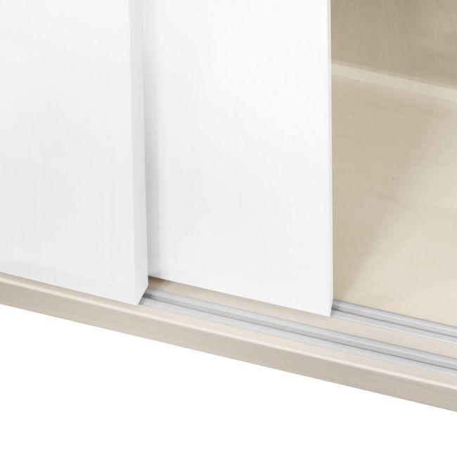 UNI Schiebetürenschrank   2 OH, 1000 x 777 mm, Ahorn / Weiß