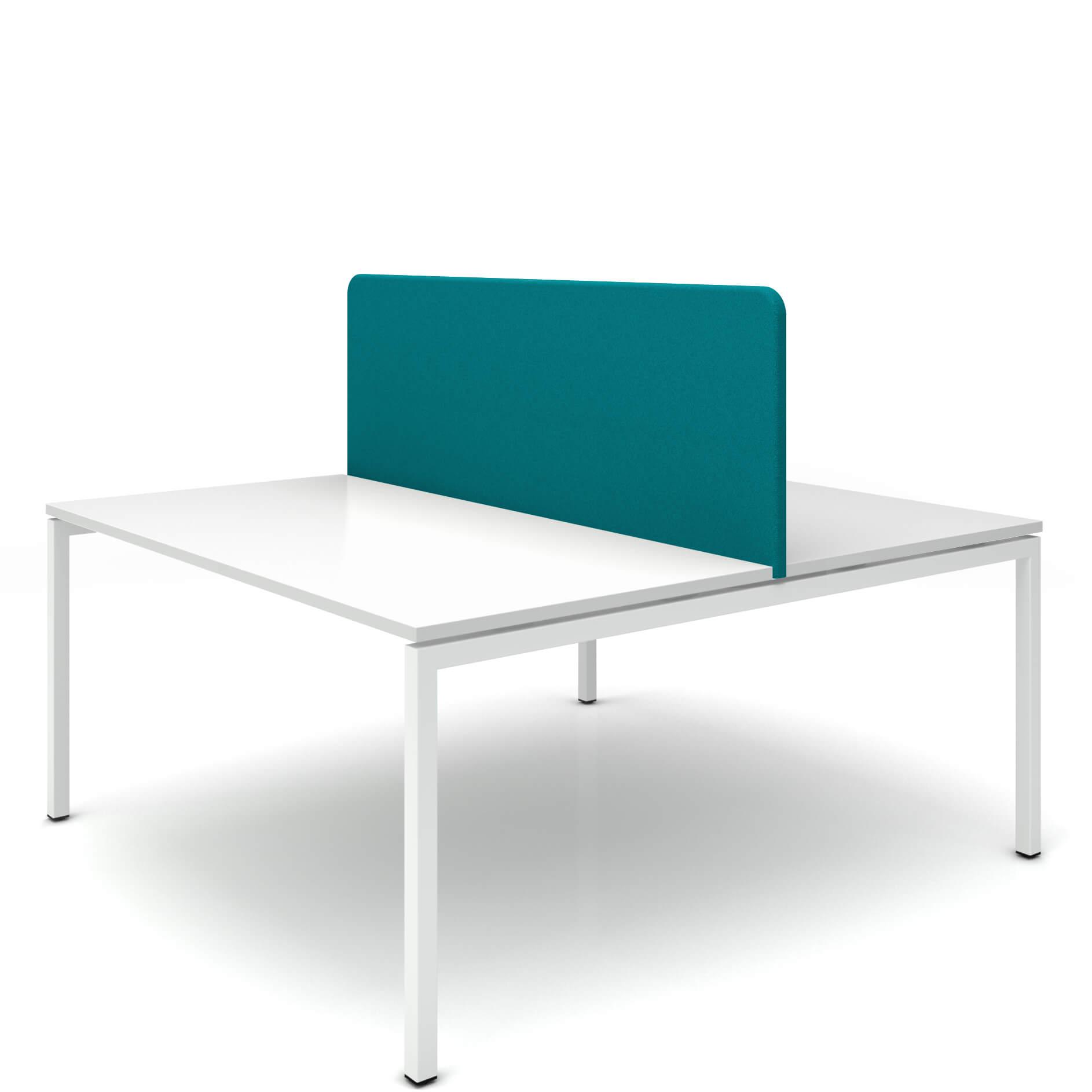 Akustik Bench-Tischtrennwand Sichtschutz Lärmschutz Schallabsorbierend Raumteiler TOP