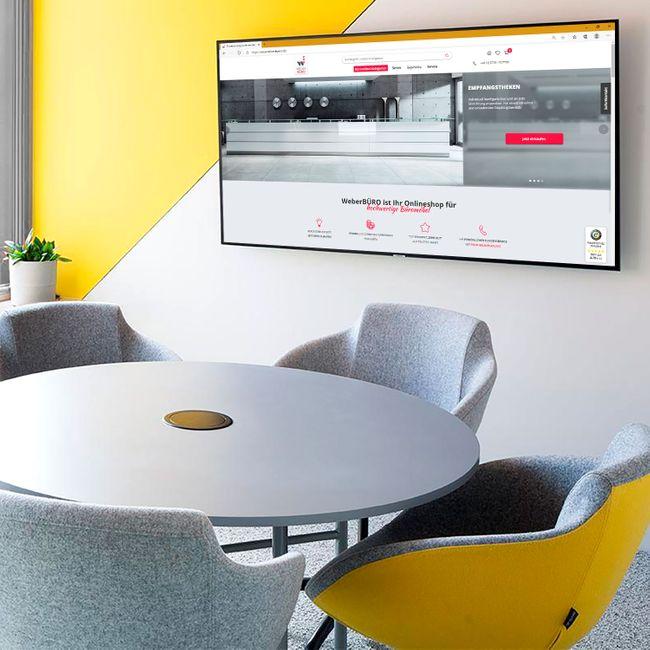 TULA Loungesessel   4-Fuß-Kreuz, höhenverstellbar, Kunstleder