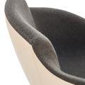 Loungesessel TULA mit Fußkreuz höhenverstellbar VELITO | SYNERGY