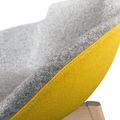 Loungesessel TULA mit Holzgestell VELITO | SYNERGY