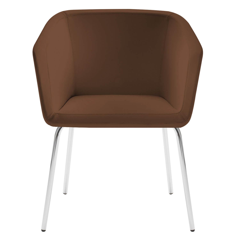 Loungesessel Sessel mit 4-Fußgestell MEG