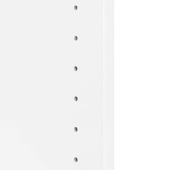 UNI Schrankwand | 5 OH, 2000 x 1897 mm, Weiß
