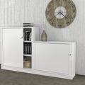 Holzsockel UNI 600 mm breit Weiß