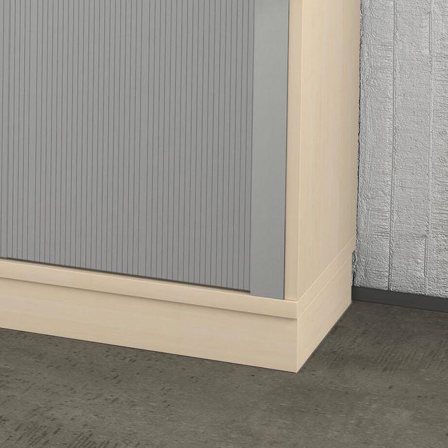 Holzsockel Sockel UNI 1.200 mm breit in Ahorn