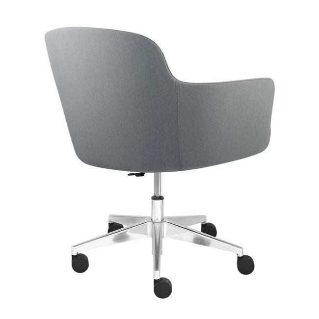 DANAE Lounge-Sessel   Auf Rollen, höhenverstellbar, Bezugsstoffe LUCIA / VELITO / SYNERGY