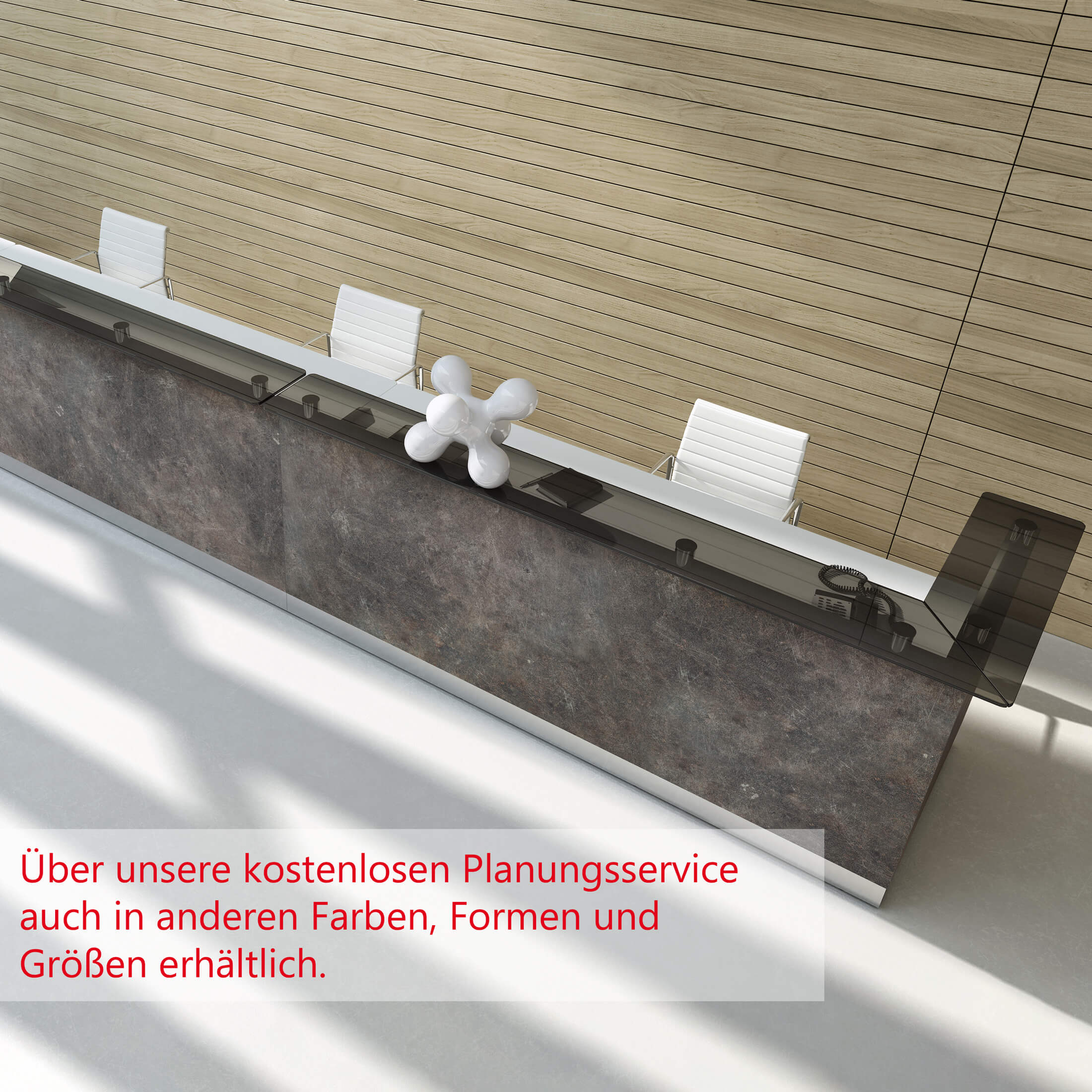 Empfangstheke Theke Rezeption Arzttheke Lieferung & Montage kostenlos SEVILLA