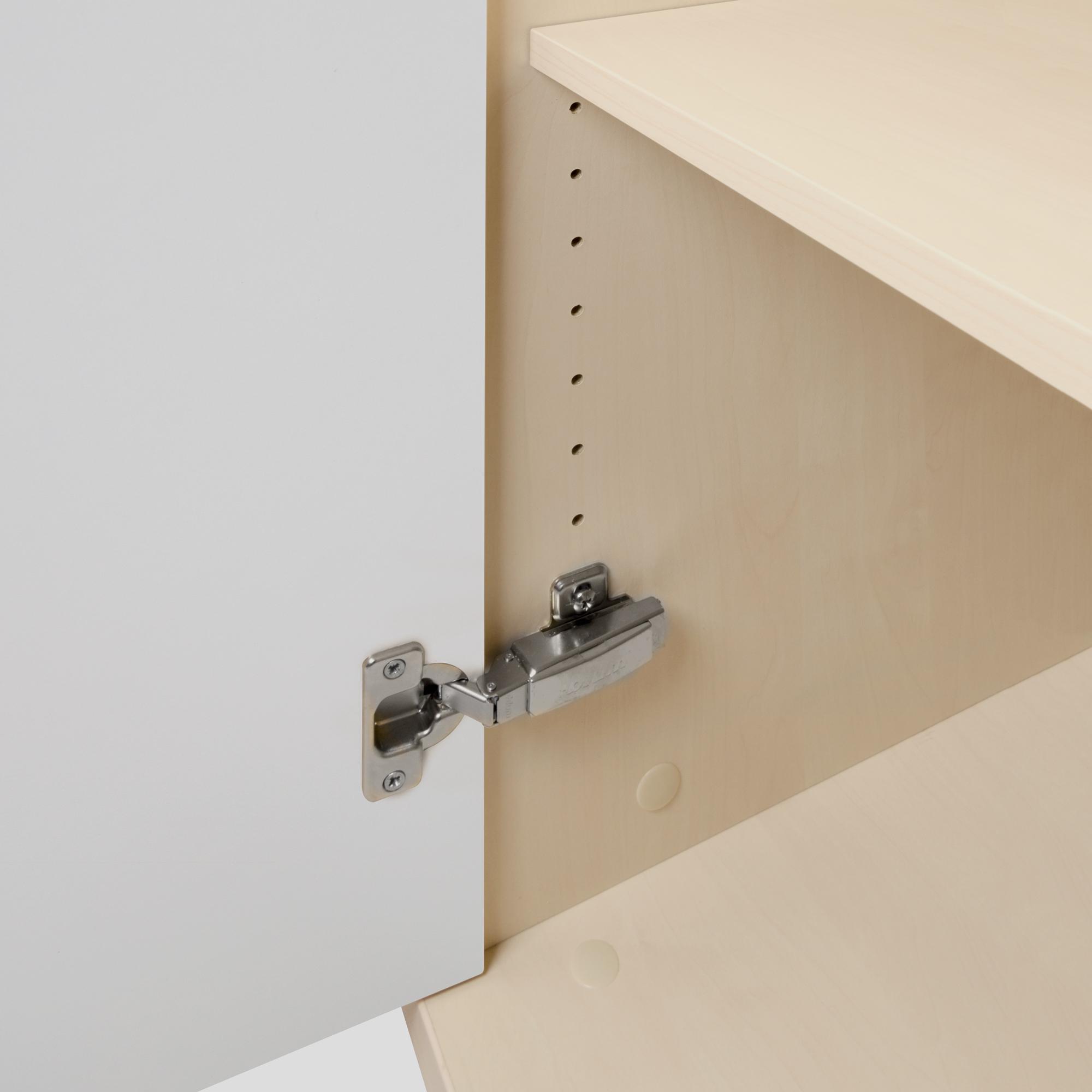 PROFI Schrankwand abschließbar Schrank Büroschrank Flügeltürenschrank Regalschrank 5 OH Ahorn/Weiß