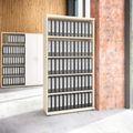 Regalschrank UNI 5 OH, (BxH) 1.000 x 1.897 mm, Ahorn