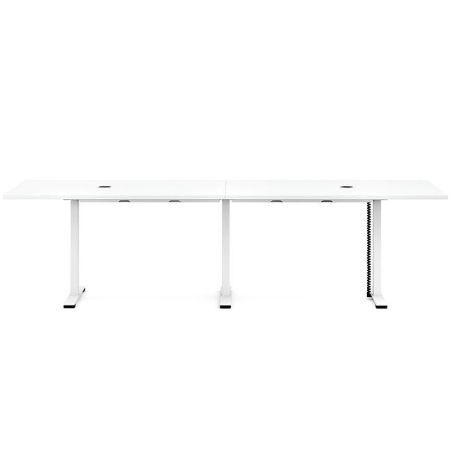 JAZZ Konferenztisch   2000 x 1200 mm, Weiß