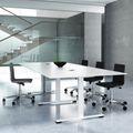 Konferenztisch JAZZ 2.000 x 1.200 mm Weiß
