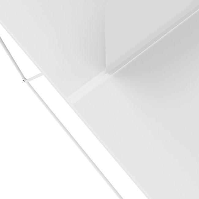 AIR Gruppenarbeitsplatz   1600 x 1600 mm, Weiß