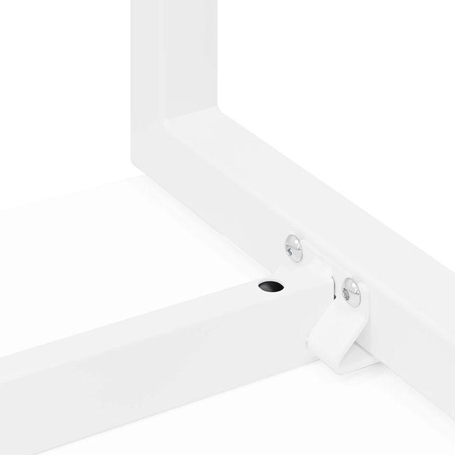 Hochtisch NOVA 1.600 x 700 mm Weiß – Bild 9