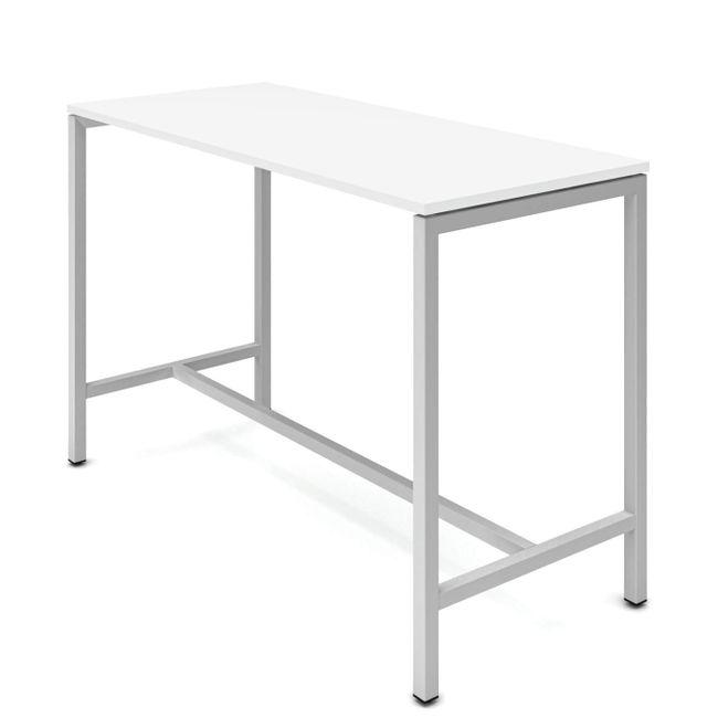Hochtisch NOVA 1.800 x 700 mm Weiß – Bild 3