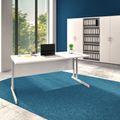 Schreibtisch OPTIMA C 1.600 x 800 mm Weiß