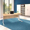 Schreibtisch OPTIMA C 1.600 x 800 mm Bernstein-Eiche