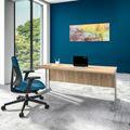 Schreibtisch OPTIMA C 1.800 x 800 mm Bernstein-Eiche