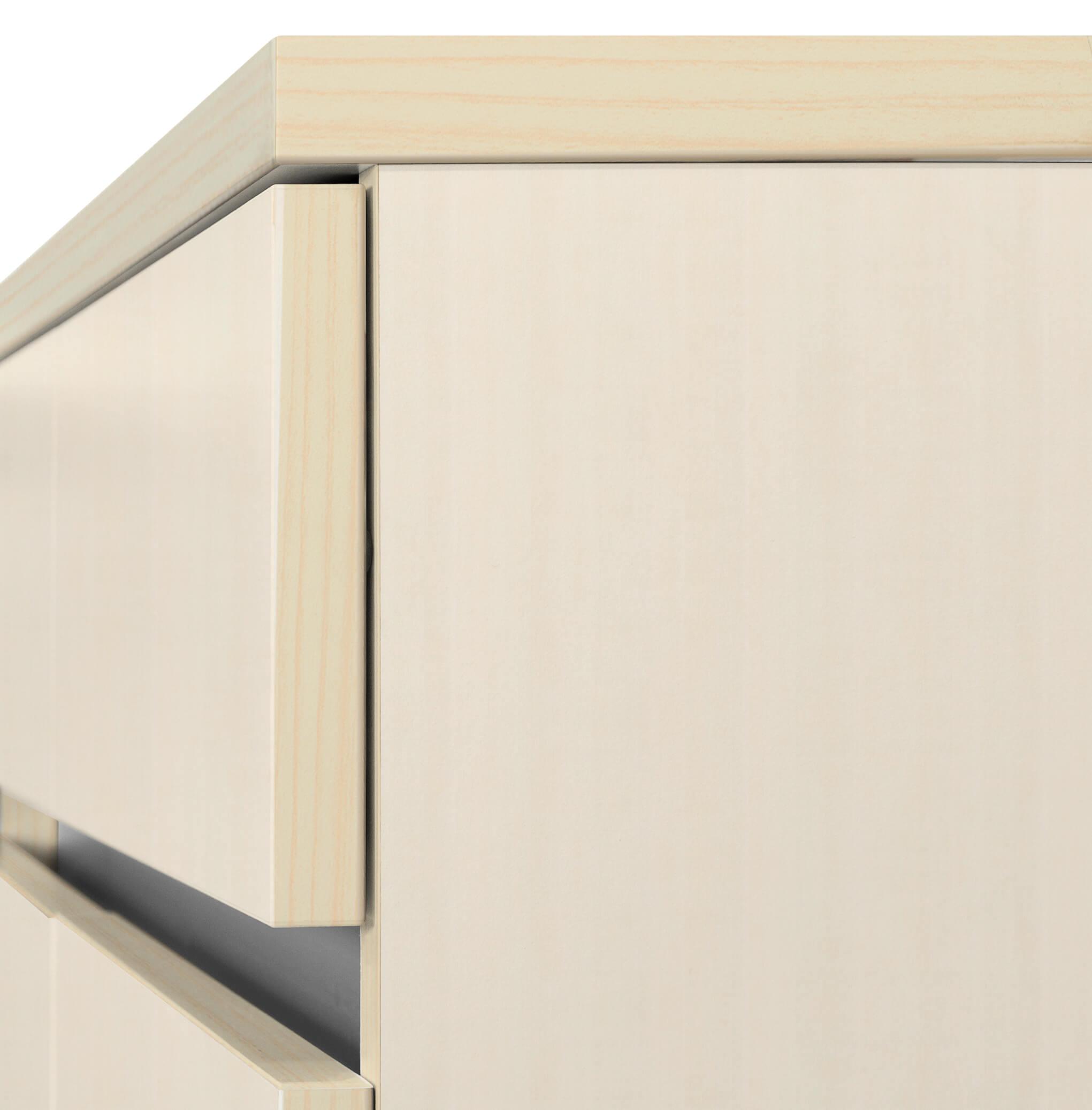 PROFI Schreibtisch AIR mit integriertem Sideboard Bürotisch Computertisch Tisch