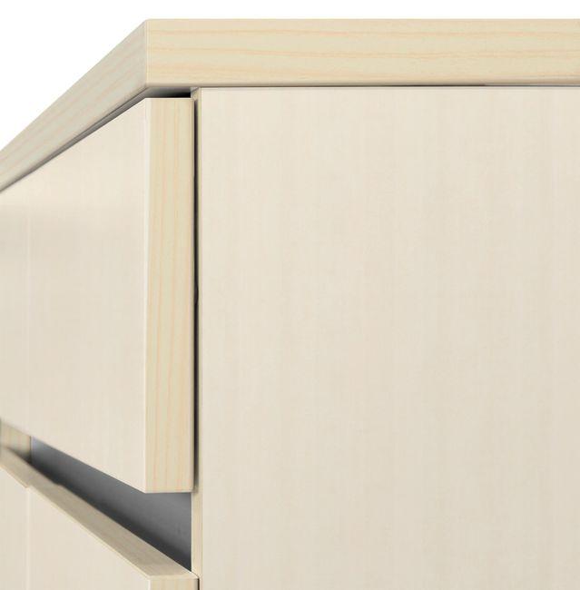 Schreibtisch AIR mit integriertem Sideboard rechts 1600 x 1600 mm Ahorn – Bild 9