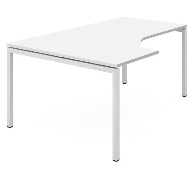 Winkelkombination links NOVA 1.800 x 1.630 mm Standcontainer Weiß – Bild 4
