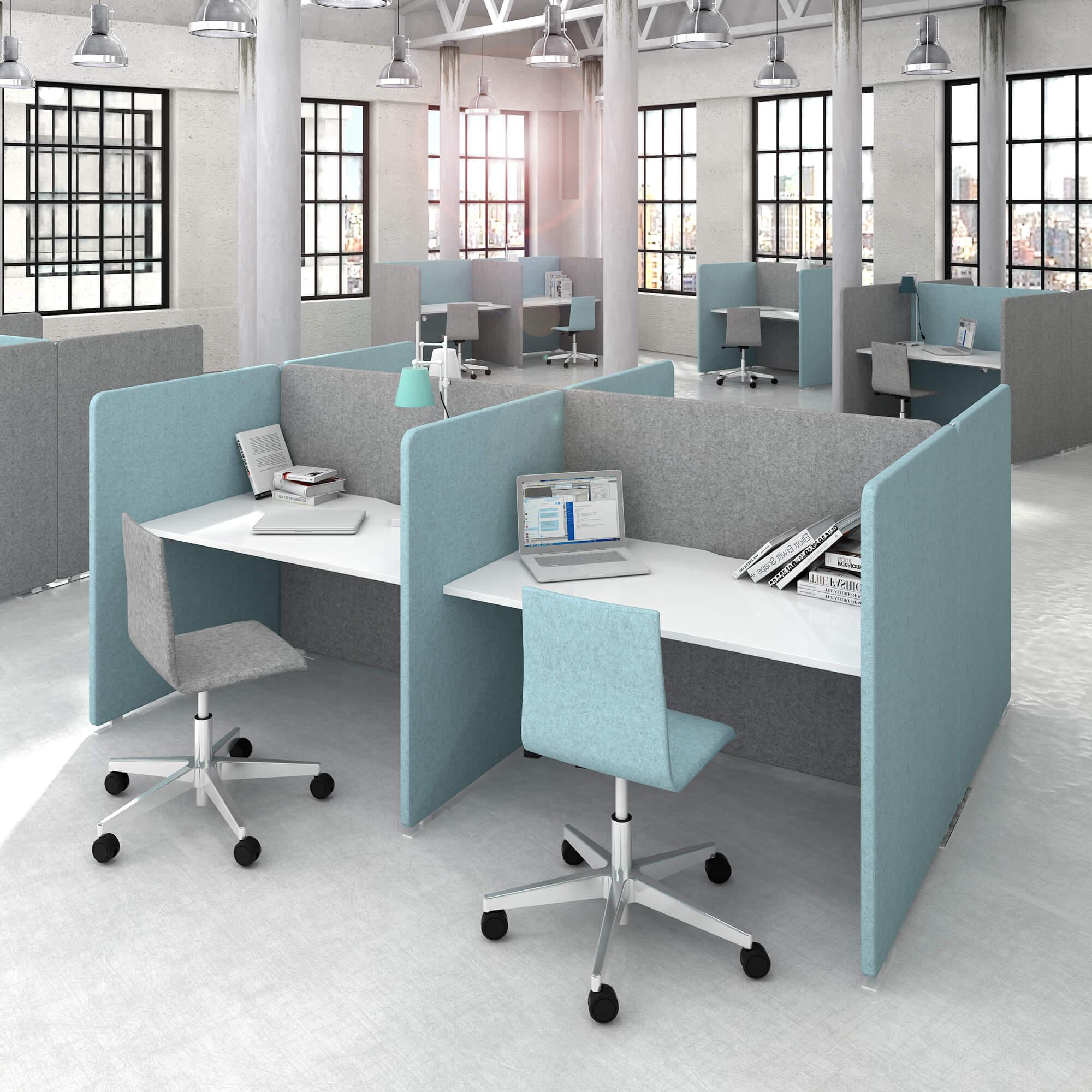 Bürodrehstuhl MOON mit Wollbezug Bürostuhl - Drehstuhl - Stuhl