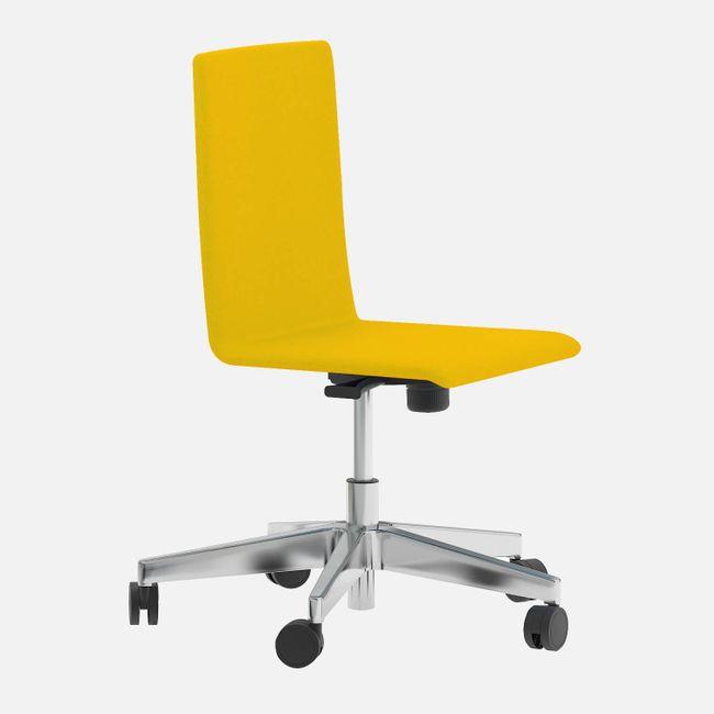 Bürodrehstuhl MOON mit Wollbezug – Bild 8