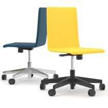Bürodrehstuhl MOON mit Wollbezug