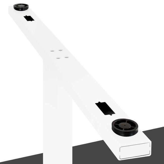 Konferenztisch Bootsform EASY 1.800 x 1.000 mm Anthrazit 6 - 8 Personen  – Bild 6