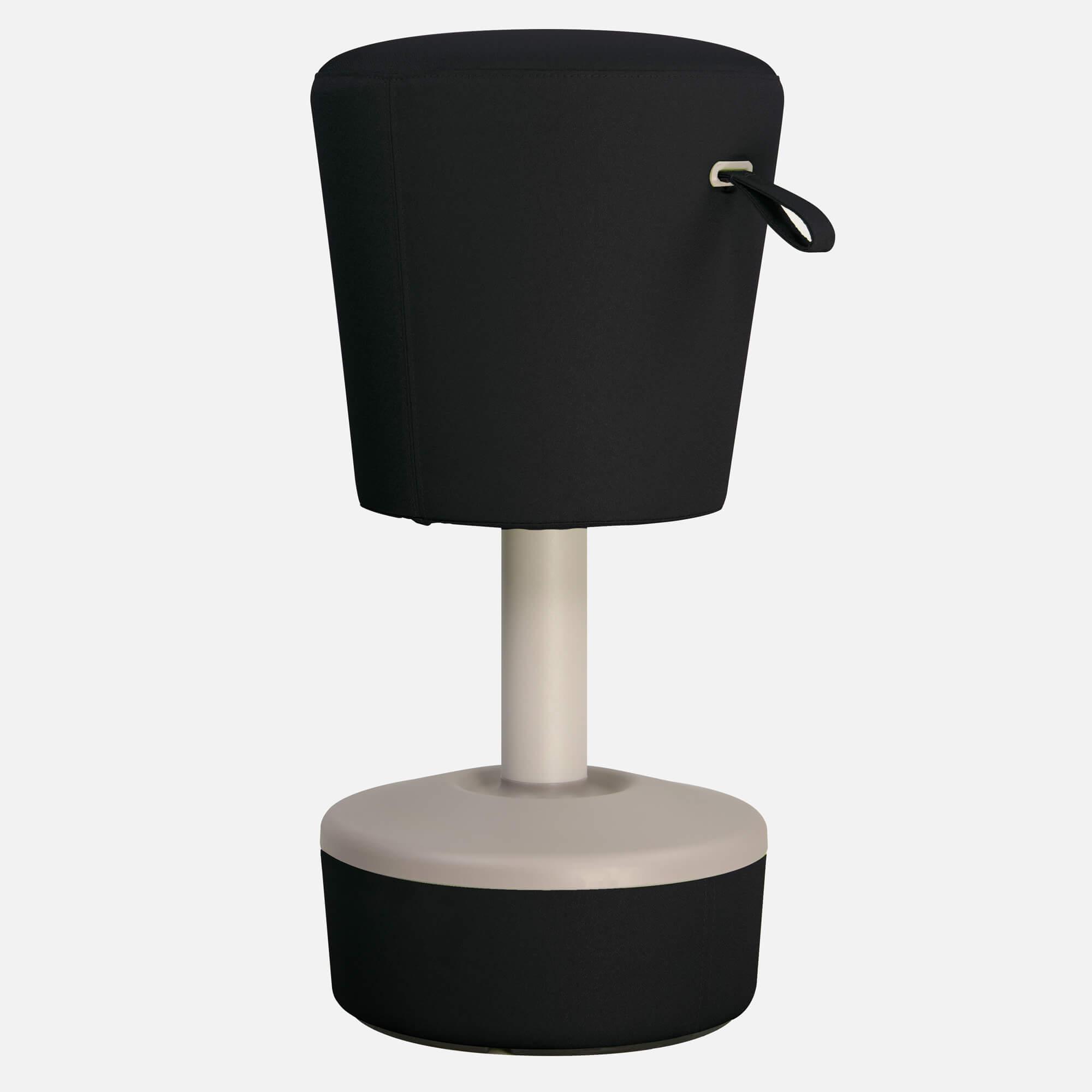 profim Sitzhocker Mickey Büro Sitz-Stand-Hocker Mickey Ø 360 mm Bürohocker Bürostuhl Sitzhöhe: 570-900 mm