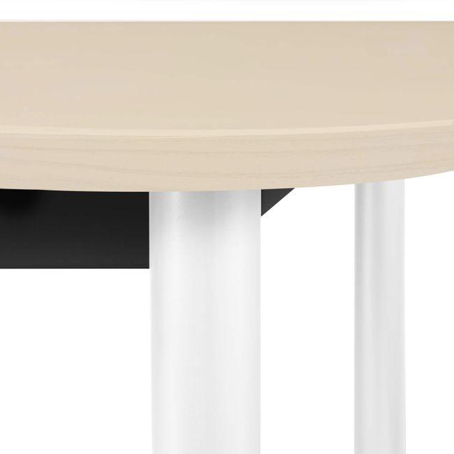 OPTIMA Konferenztisch   Oval, 2000 x 1000 mm, Ahorn